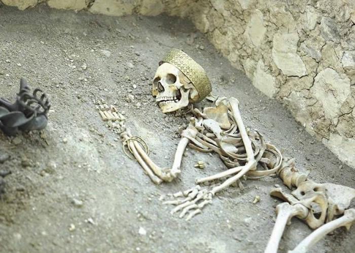 土耳其安纳托利亚省出土距今逾4500年前青铜时代的哈梯人遗骨