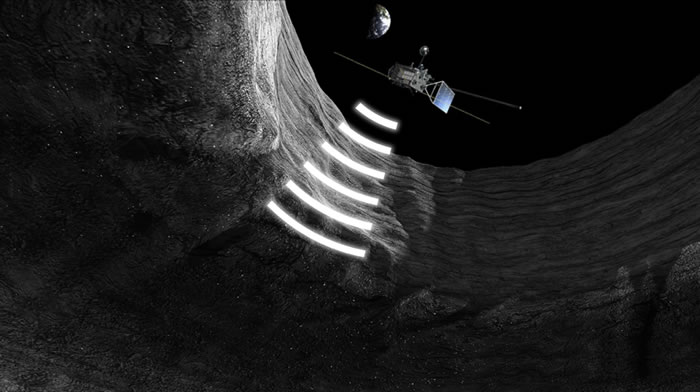 """日本探月卫星""""月亮女神""""发现月球地下有全长约50公里的巨大坑洞"""