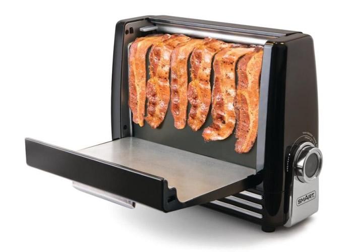 烟肉烤炉采取直立式,两旁可以打开。