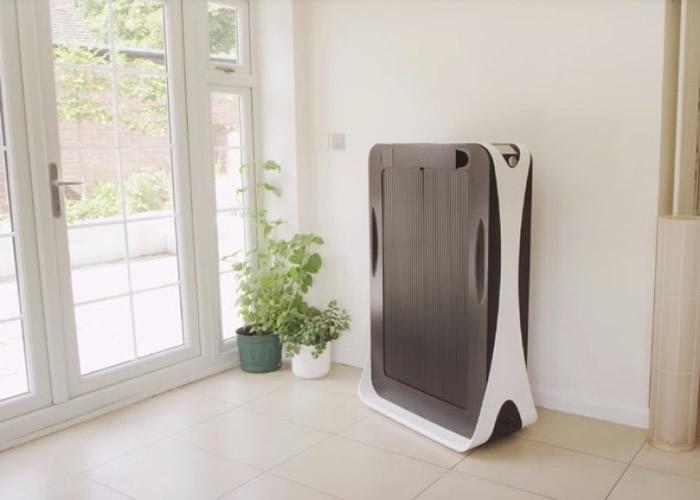 熨衫机外表像个衣柜。