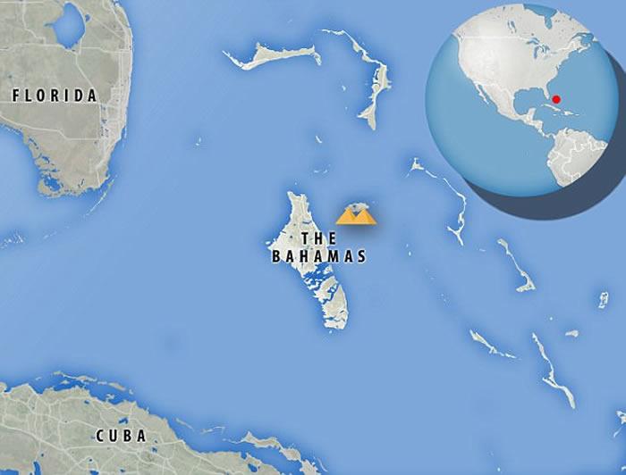 "UFO组织""Secure Team 10""Scott Waring:大西洋岛国巴哈马海底发现两座金字塔"