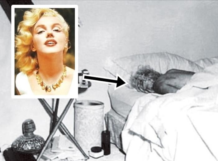 玛丽莲梦露(小图)香消玉殒,外界盛传跟肯尼迪有关。