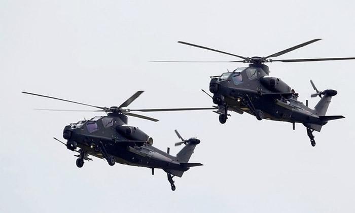 「武直-10」武装直升机