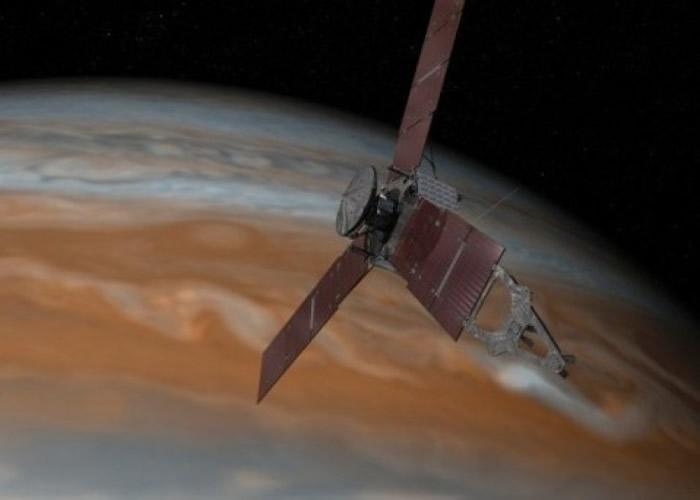 """歌单包括""""朱诺号""""(Juno)穿过木星磁场时的""""吼叫""""。"""