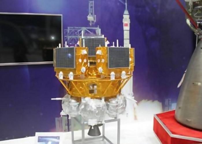 """中国新一""""太空摆渡车""""计划在2018年发射。图为""""远征一号上面级""""。"""
