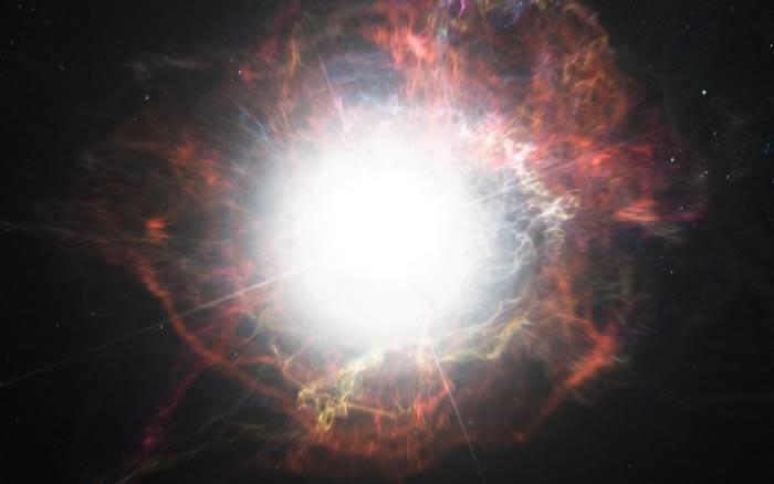 天文学家发现地球5亿光年外顽强超新星iPTF14hls 多次爆炸却60年不死