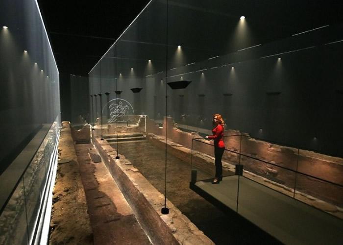 建于罗马帝国时期密特拉教教堂即将在英国伦敦原址重现