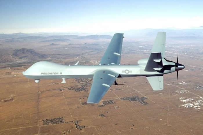 美国海军演习中MQ-9死神无人侦察机首次展示反潜能力