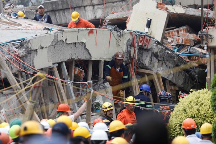 墨西哥日前发生芮氏规模7.1地震