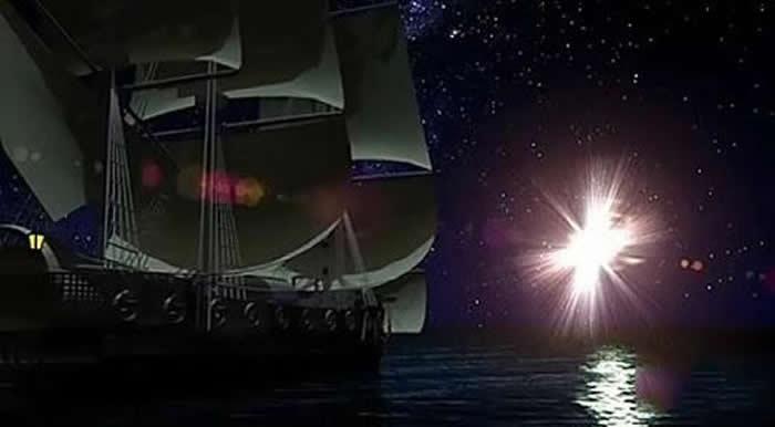 神秘的百慕大三角与外星人有关?哥伦布曾目击UFO亮光
