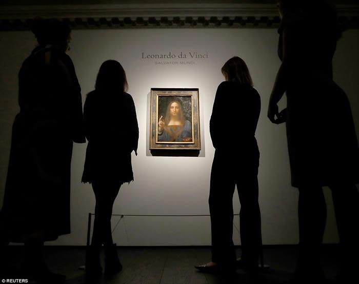 世界上最昂贵的艺术品:意大利文艺复兴时期艺术家达芬奇的《救世主》以4.5亿美元卖出