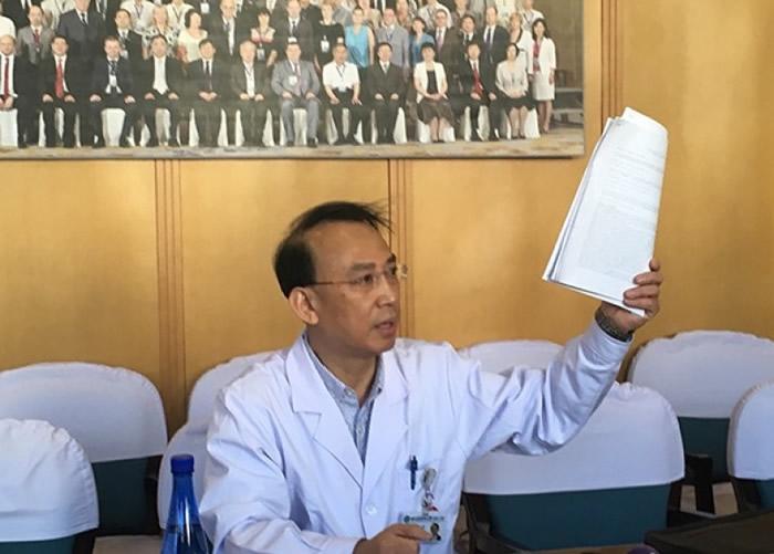 卡纳韦罗透露,任晓平此前展示的研究报告已经投给美国期刊《外科》。