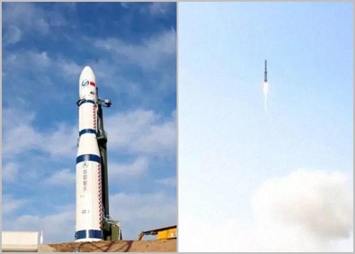 长征六号运载火箭第2次升空执行任务。