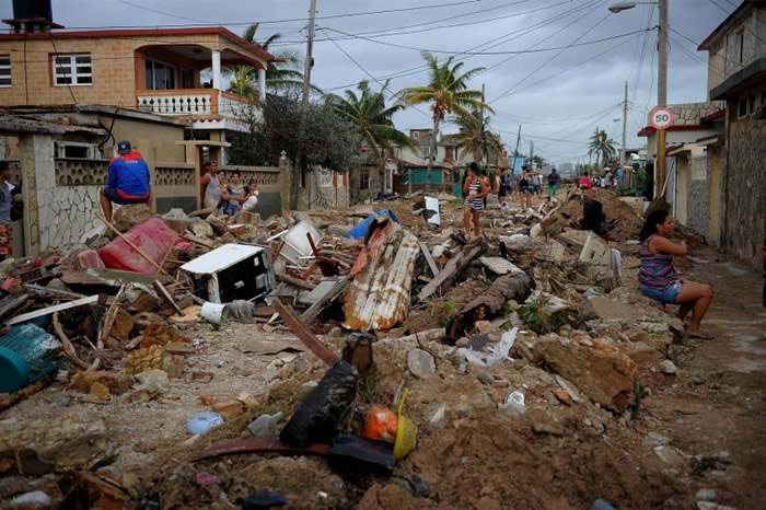 飓风艾尔玛今年夏季肆虐美国北大西洋海岸。