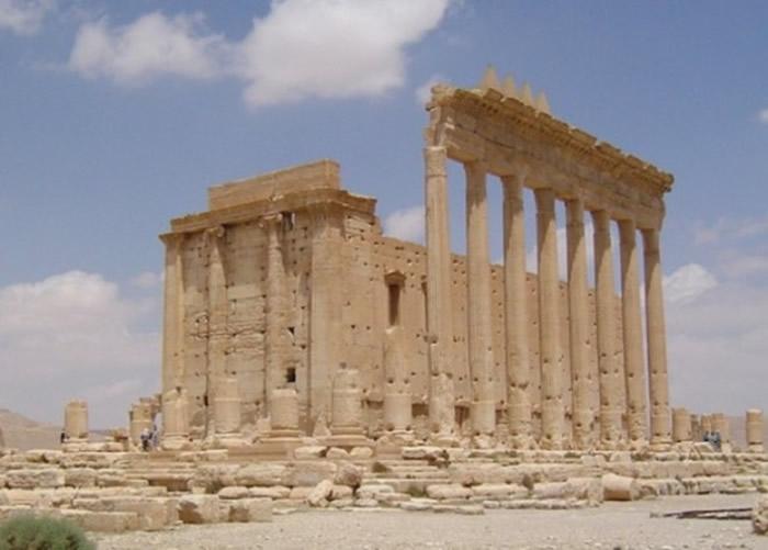 巴尔米拉古城有不少重要的古迹。