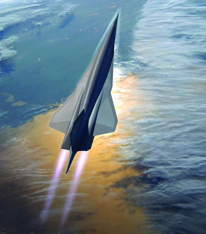 新一代高速飞机SR-72无人机的消息频频传出