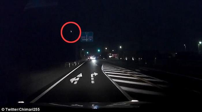 日本各地目击夜空出现火球 散发如爆炸强光