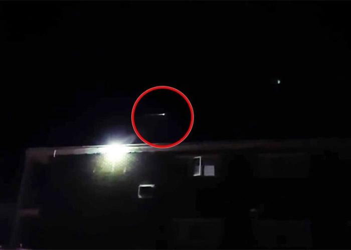 火光掠过加拿大上空 彗星、UFO还是陨石爆炸?