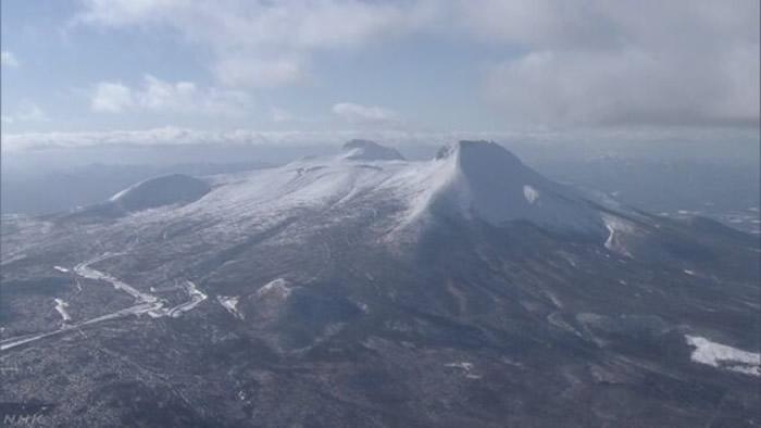日本北海道驹岳火山性地震频生 当局吁加强警戒