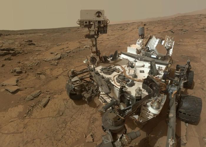 好奇号在火星工作多年。(资料图片)