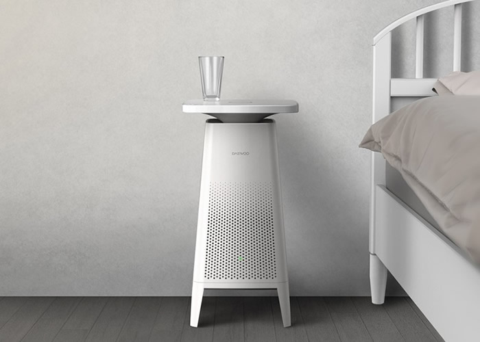Cozy外形如设计简约的小桌柜。