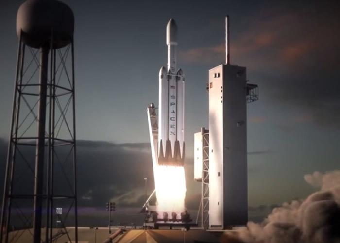 """""""猎鹰重型""""可搭载更多及更重的货物上太空。"""