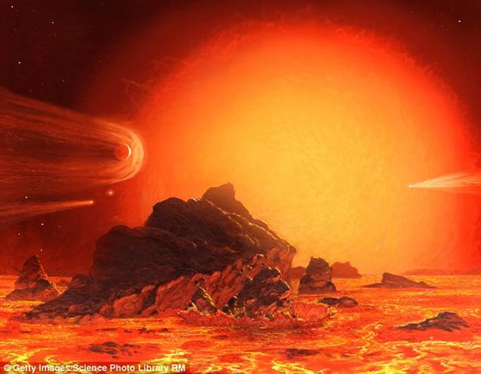 """欧洲南方天文台科学家团队观测到红巨星""""天鹤座π""""表面变化过程的""""史无前例的细节"""""""