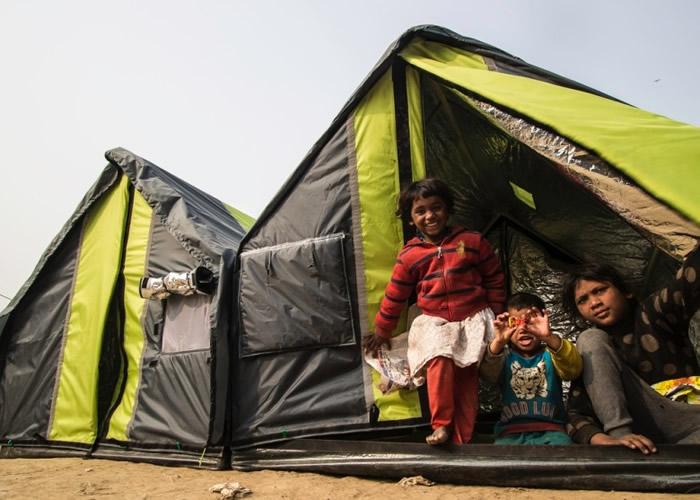 帐篷可以帮助无家可归的灾民。