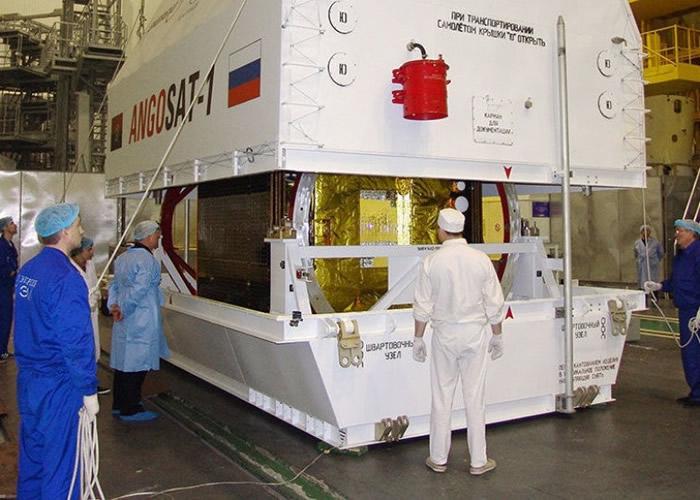 俄罗斯制安哥拉通讯卫星失联 美国监察到仍在轨迹上