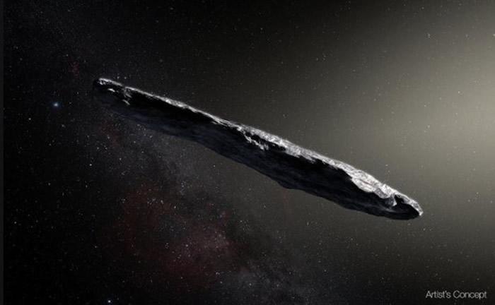 NASA公布第5名的照片,星际游客。