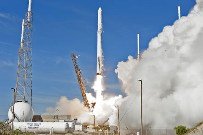 SpaceX「Falcon 9」火箭。