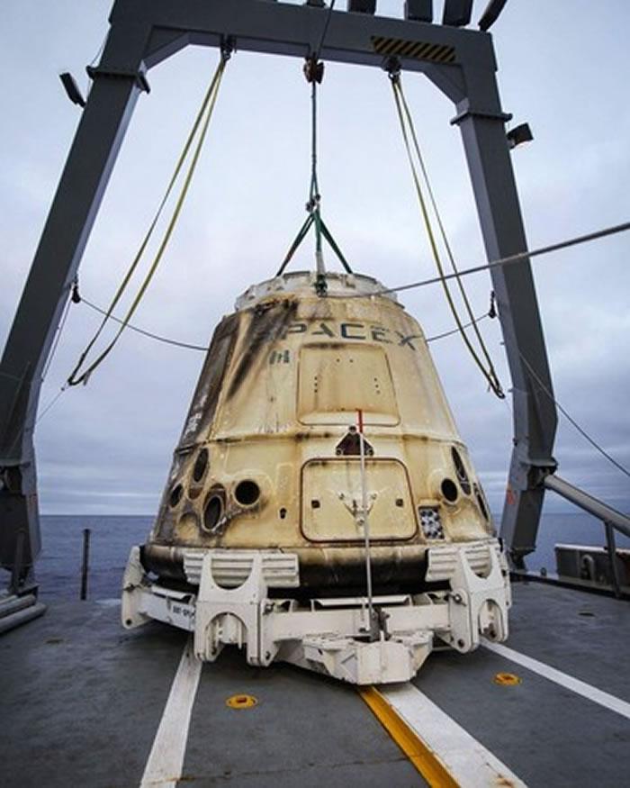 SpaceX的「天龙号」太空船。