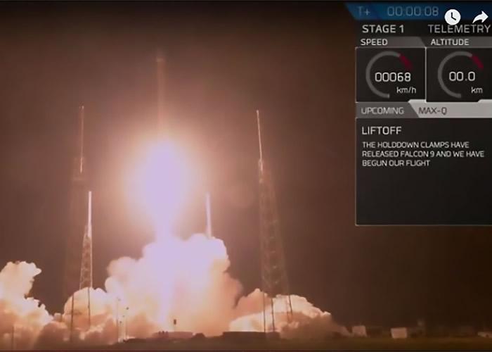 SpaceX的猎鹰9号火箭日前搭载物品升空,但任务神秘。