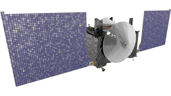 欧西里斯号。影像来源:NASA
