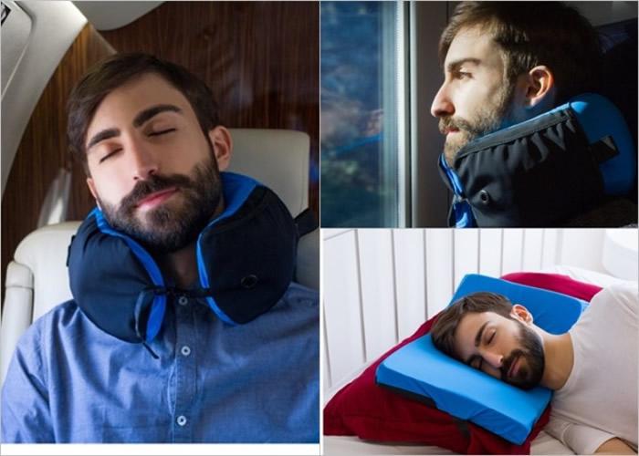 意大利生产商推出能一物多用的轻便枕