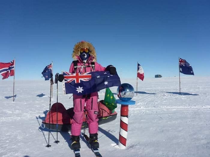 澳大利亚16岁少女Jade Hameister滑雪征服南极 打破多项世界纪录