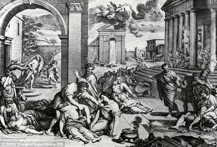 黑死病在中世纪时期夺去数以千万计人命.-黑死病散播元凶是人类 老