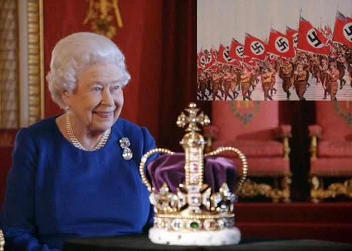 为避纳粹德军 英国皇冠二战期间曾藏在饼