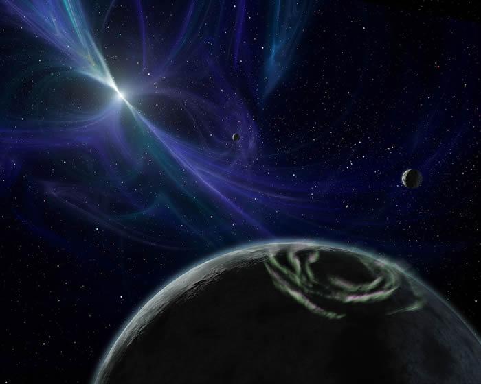 欧洲《天文与天体物理》发表文章称围绕脉冲星旋转的行星上可能存在生命