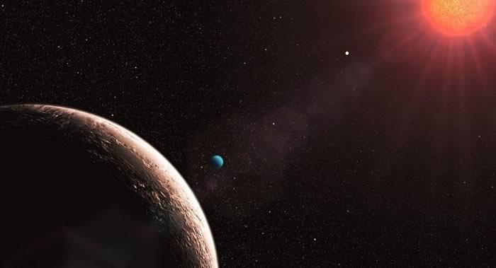 """中国科学家捕获到或有生命存在的太阳系外行星""""比邻星b""""过境信号"""