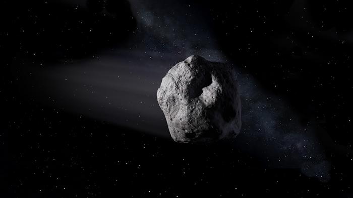 一颗和摩天大楼尺寸相近的小行星2002 AJ129将会在2月4日逼近地球