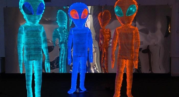 澳大利亚国际宇航大会想出了给外星人准备的门垫