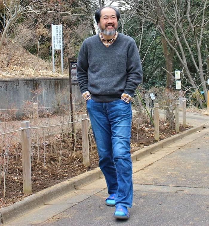 胜木俊雄发现熊野樱跟其他樱花有明显不同。