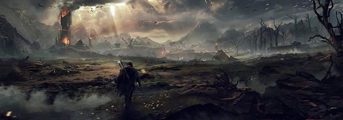 """""""魔多""""的巍峨峻岭令人印象深刻。"""