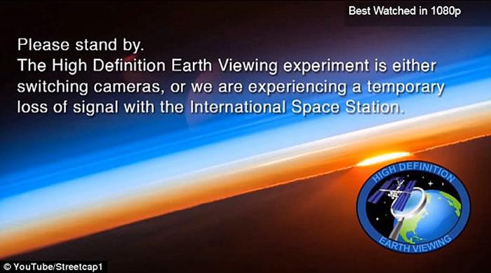 NASA之后突然中断直播