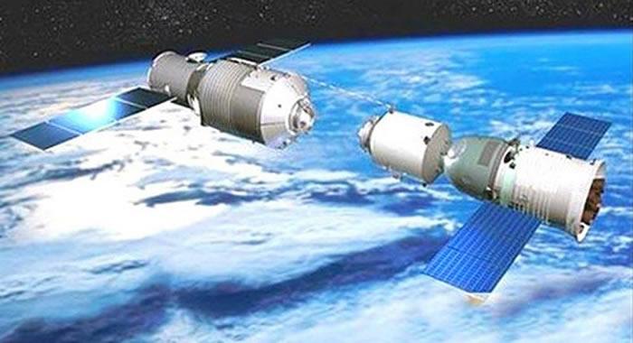 """跟踪太空垃圾的美国专业网站预测:中国""""天宫一号""""残骸将于2018年4月末坠向地球"""