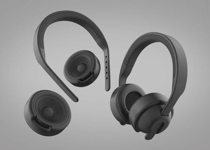 AXY可变身为耳机。