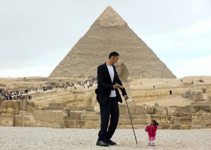 全球最高男子Sulta