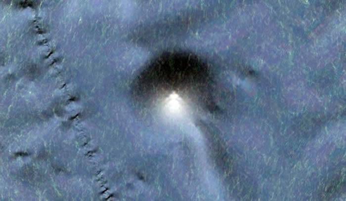 阿根廷研究者Marcelo Irazusta在墨西哥沿岸太平洋海底发现另一星球基地