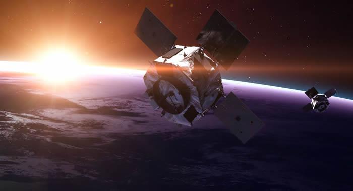 """俄罗斯首颗雷达卫星""""秃鹰-FKA""""(Kondor-FKA)预计于2018年发射升空"""